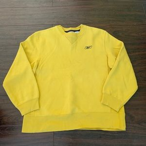 Reebok Classic Crewneck sweatshirt yellow medium